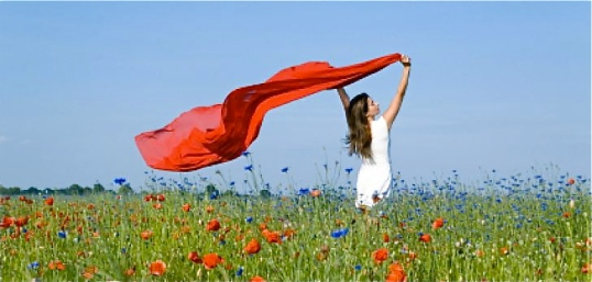 wpid-woman_-_field_-_wild_flowers_-_red_scarf1